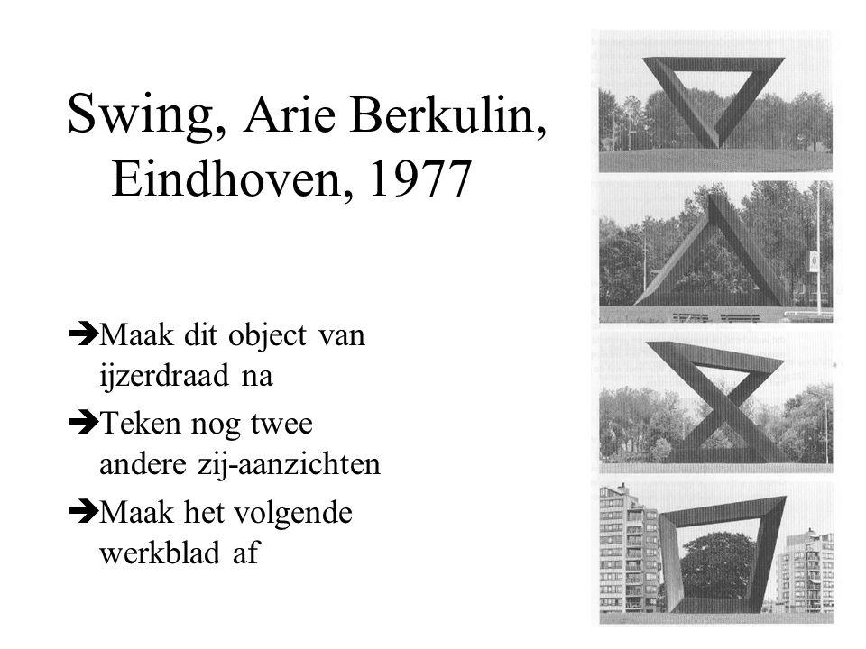 Swing, Arie Berkulin, Eindhoven, 1977