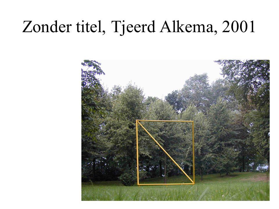 Zonder titel, Tjeerd Alkema, 2001
