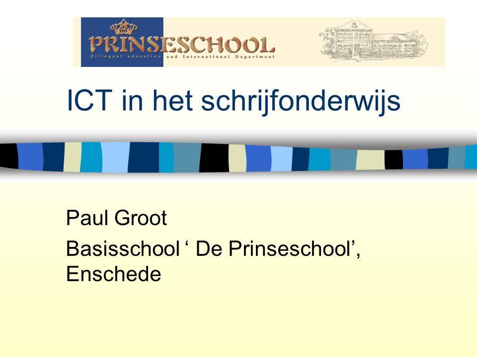 ICT in het schrijfonderwijs