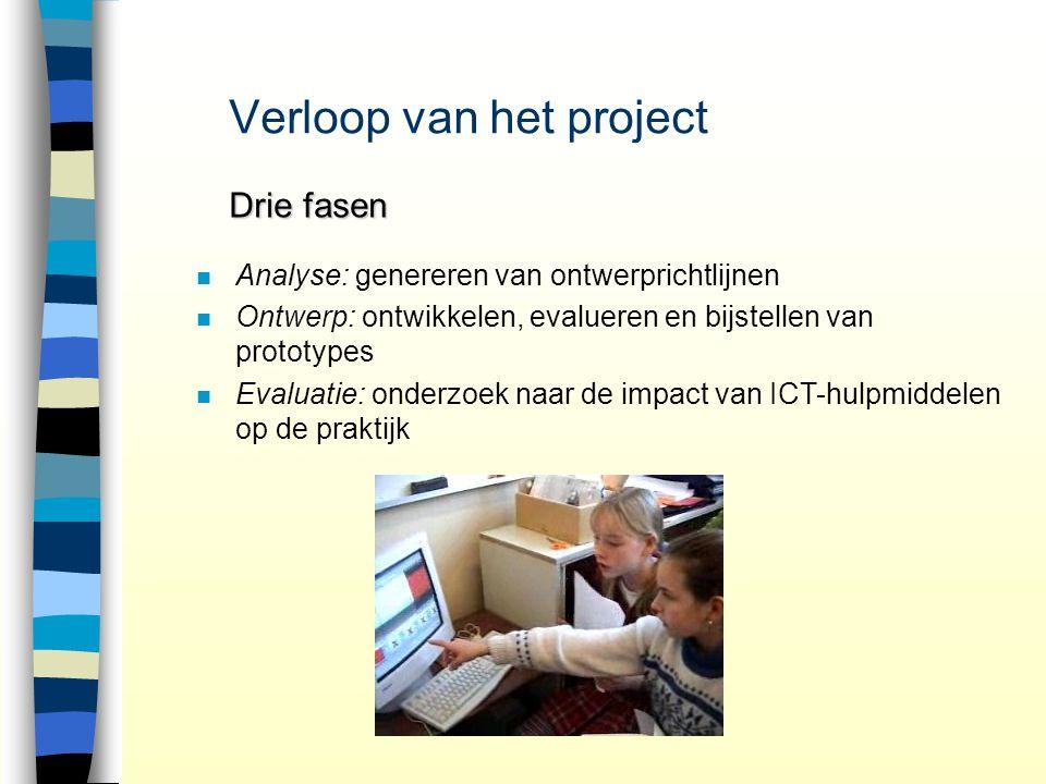 Verloop van het project