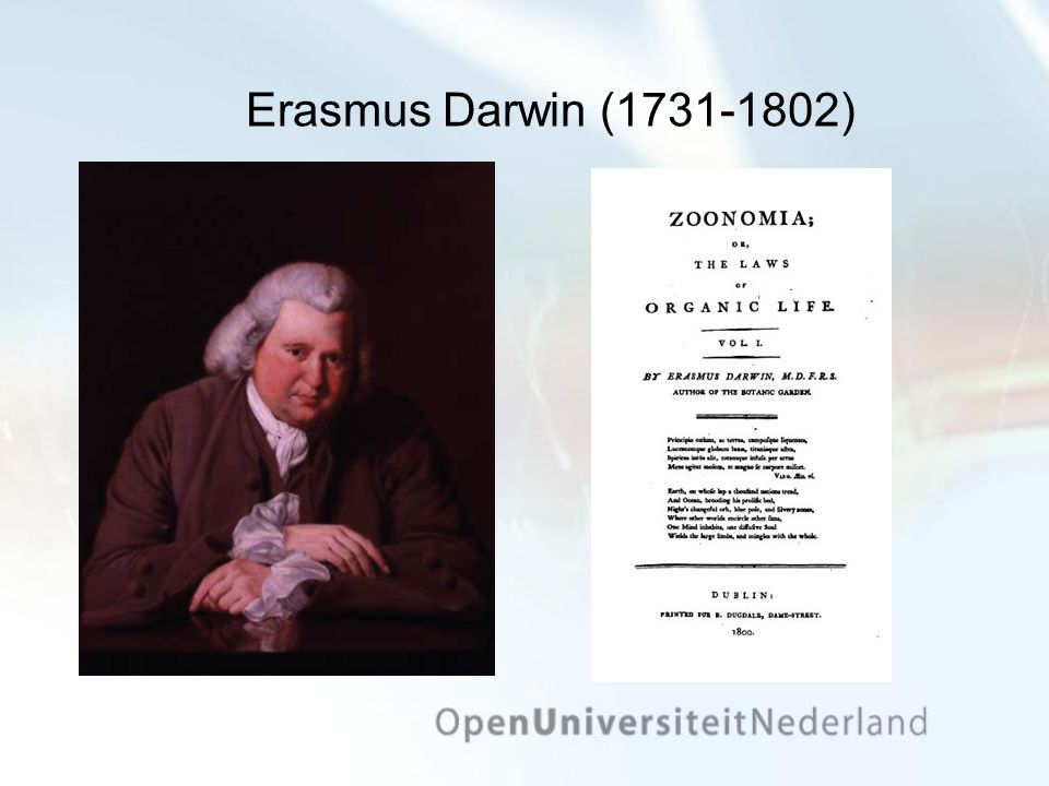 Erasmus Darwin (1731-1802)