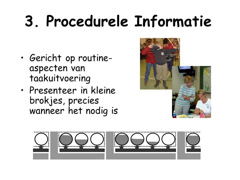 3. Procedurele Informatie