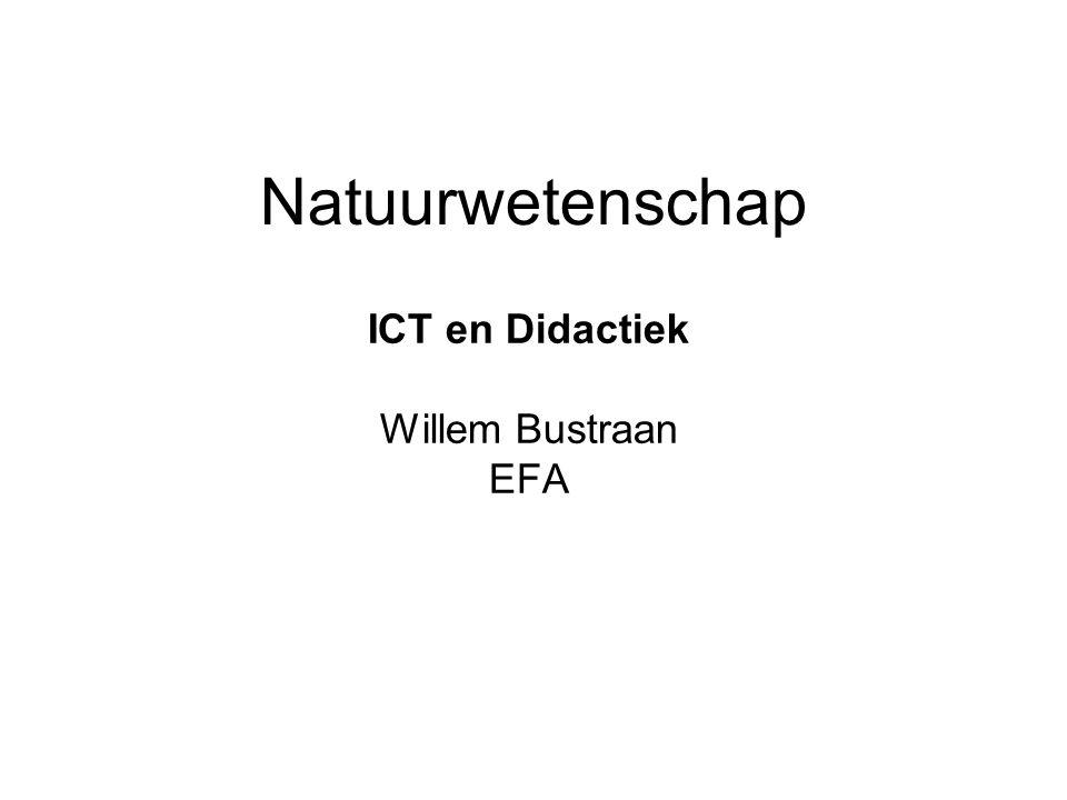 ICT en Didactiek Willem Bustraan EFA