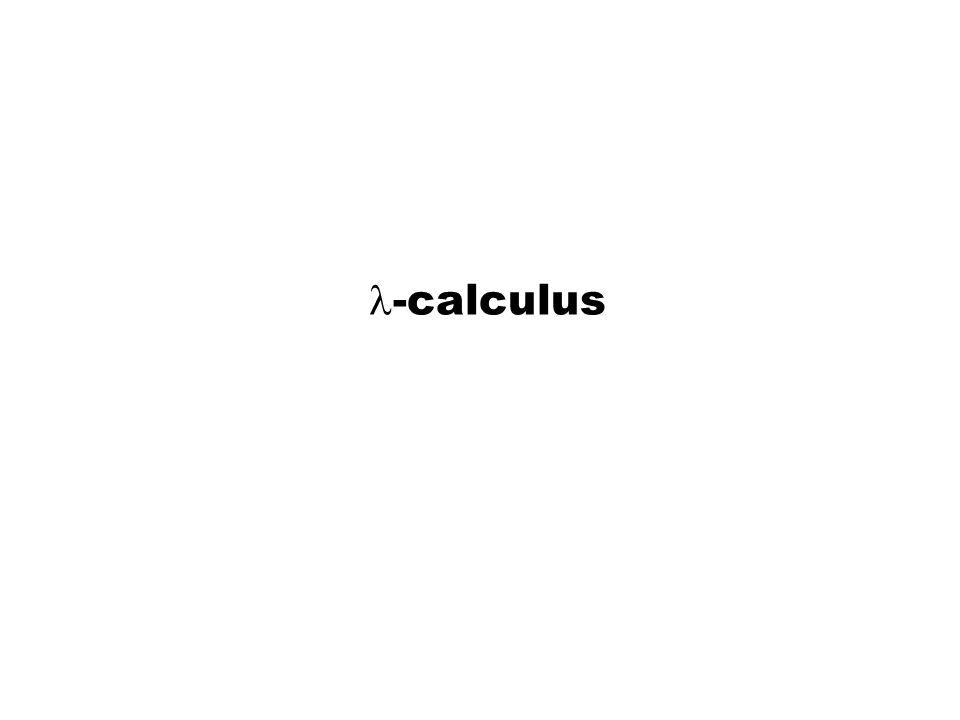 -calculus