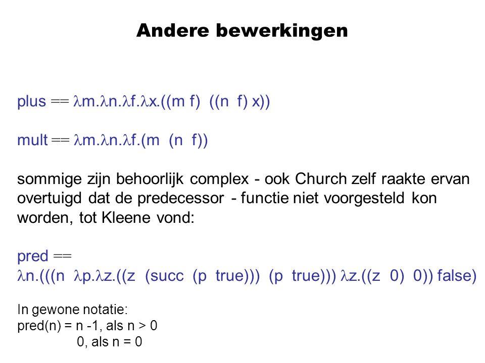 Andere bewerkingen plus == m.n.f.x.((m f) ((n f) x))