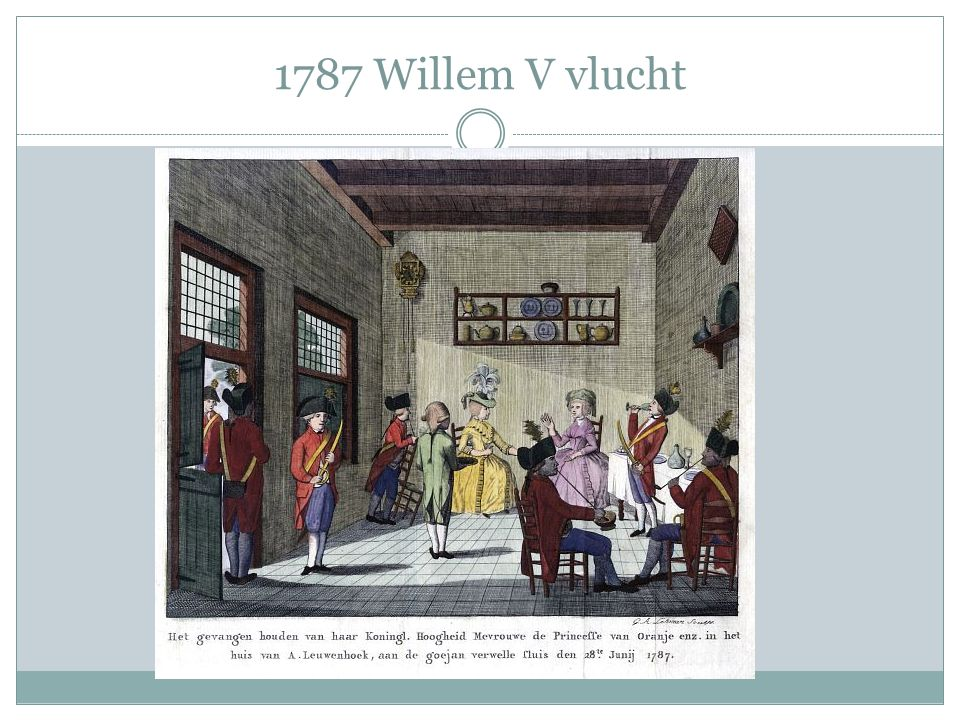 1787 Willem V vlucht