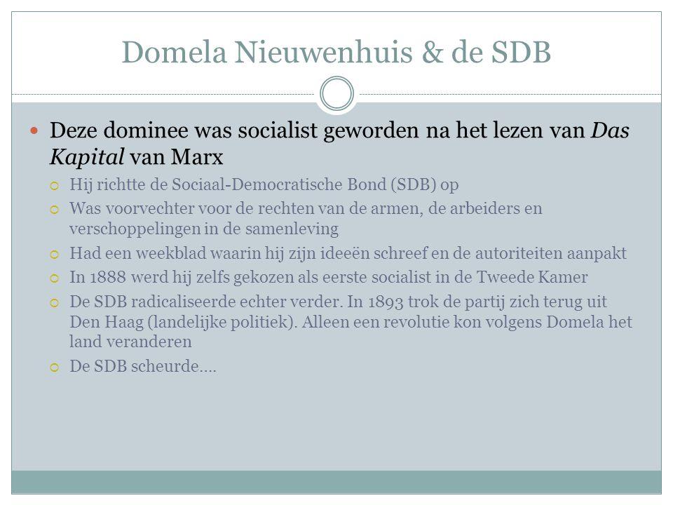 Domela Nieuwenhuis & de SDB