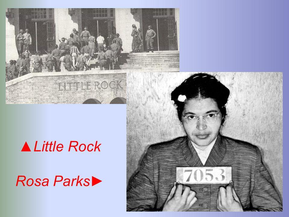 ▲Little Rock Rosa Parks►