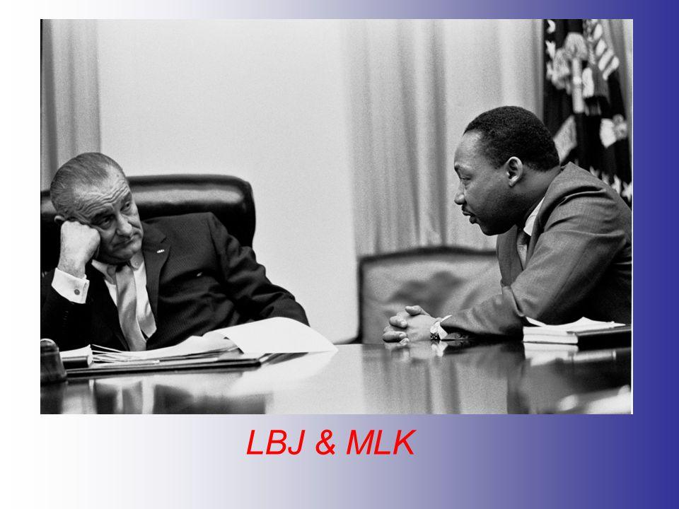 LBJ & MLK