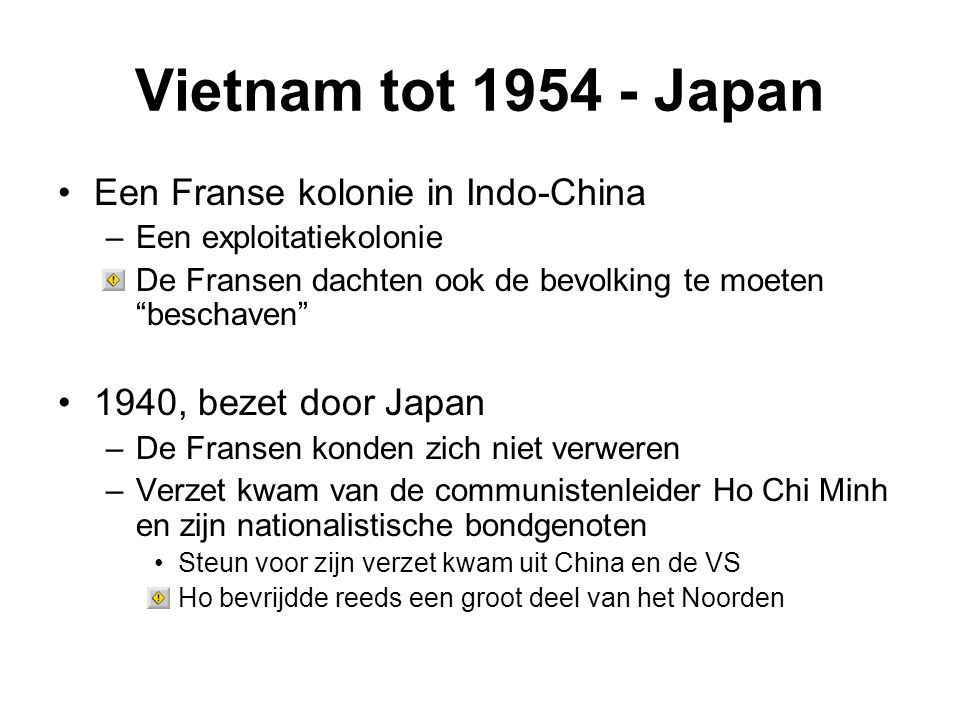 Vietnam tot 1954 - Japan Een Franse kolonie in Indo-China