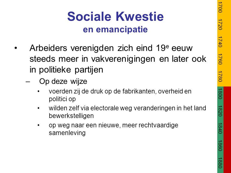 Sociale Kwestie en emancipatie