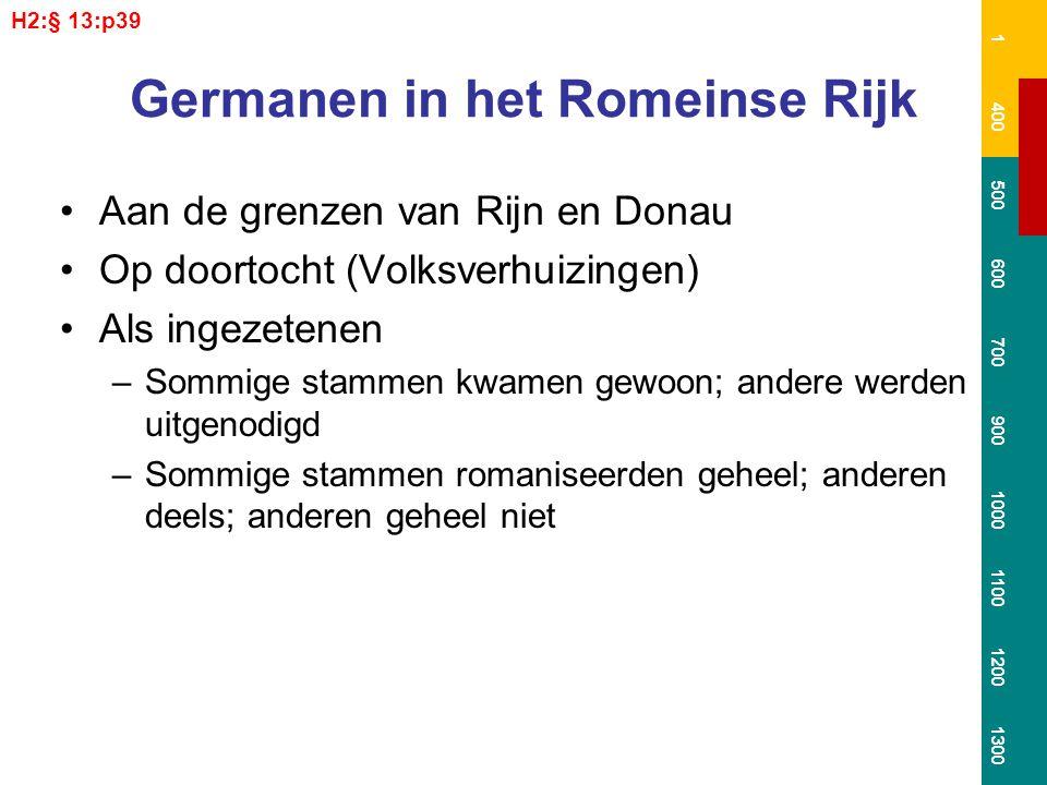 Germanen in het Romeinse Rijk
