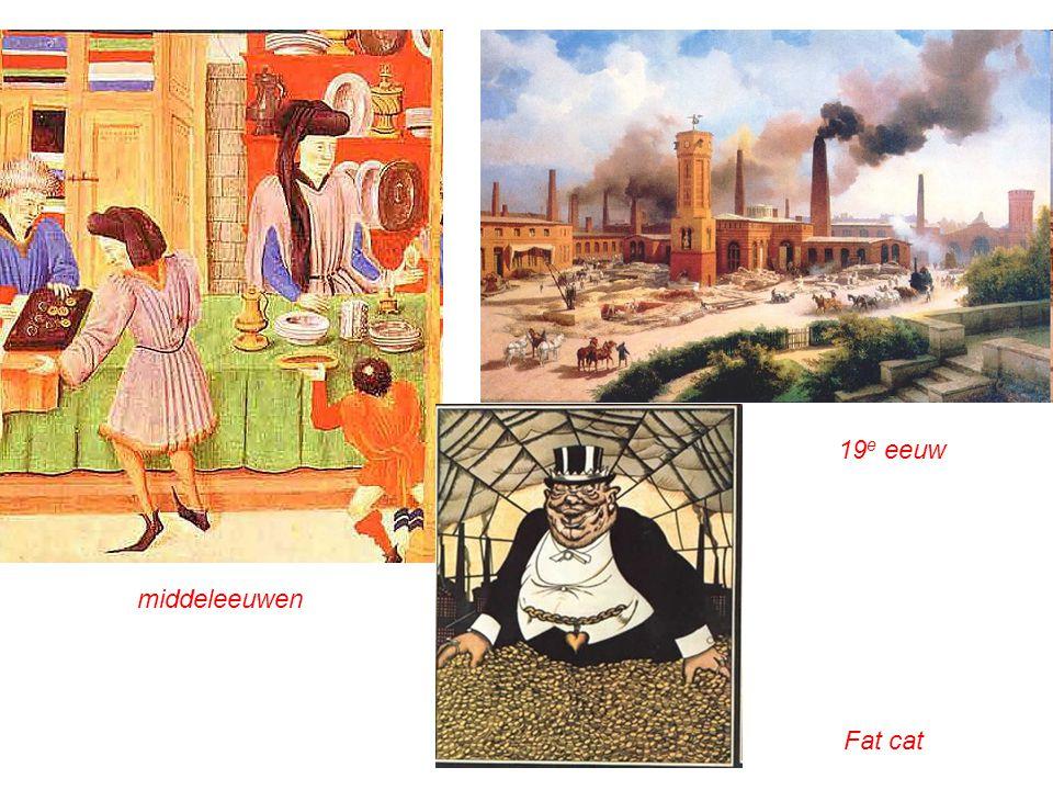19e eeuw middeleeuwen Fat cat