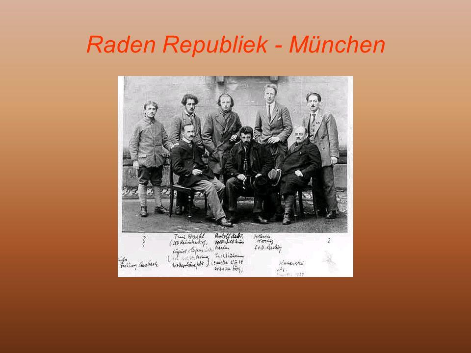 Raden Republiek - München