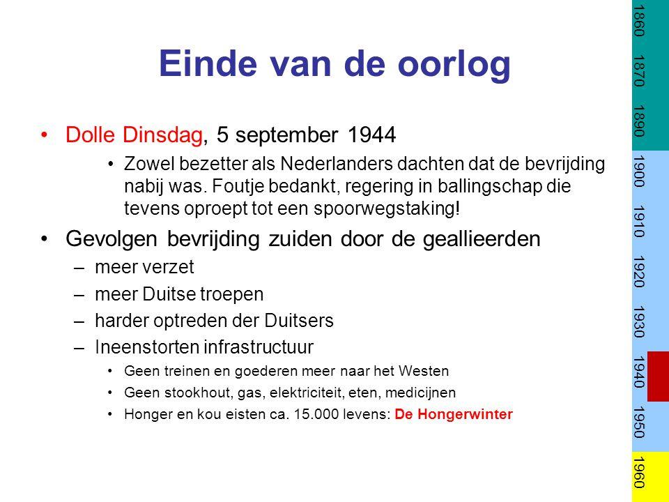 Einde van de oorlog Dolle Dinsdag, 5 september 1944