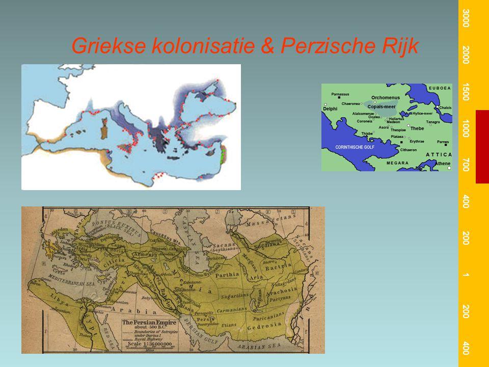Griekse kolonisatie & Perzische Rijk