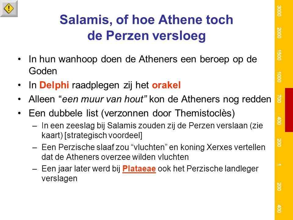 Salamis, of hoe Athene toch de Perzen versloeg