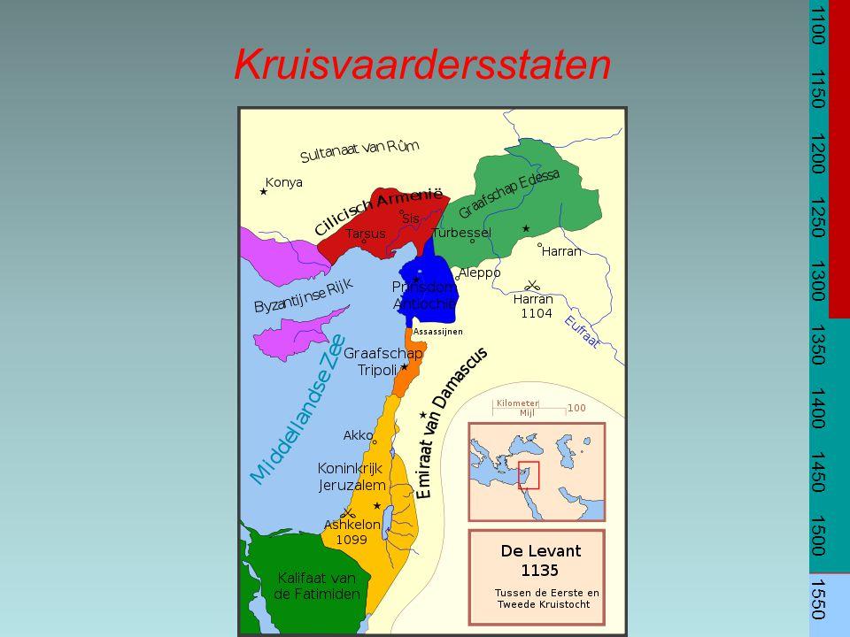 1100 1150 1200 1250 1300 1350 1400 1450 1500 1550 Kruisvaardersstaten