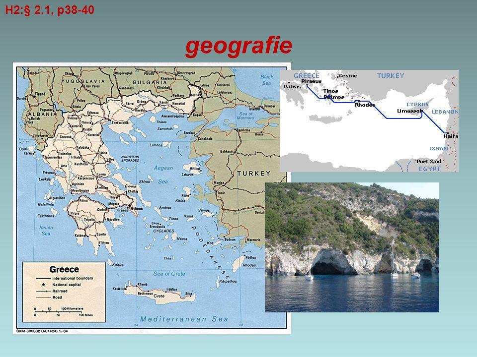 H2:§ 2.1, p38-40 geografie