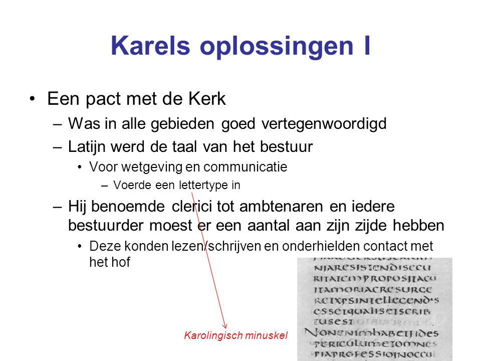 Karels oplossingen I Een pact met de Kerk