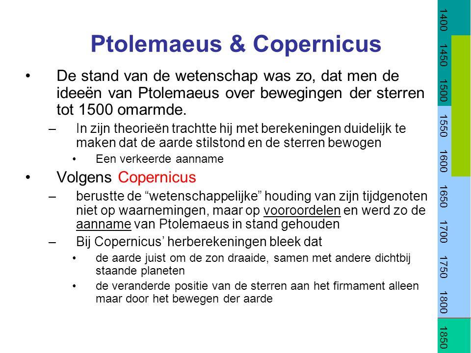 Ptolemaeus & Copernicus
