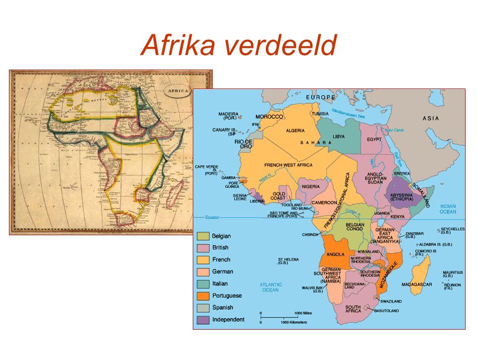 Afrika verdeeld