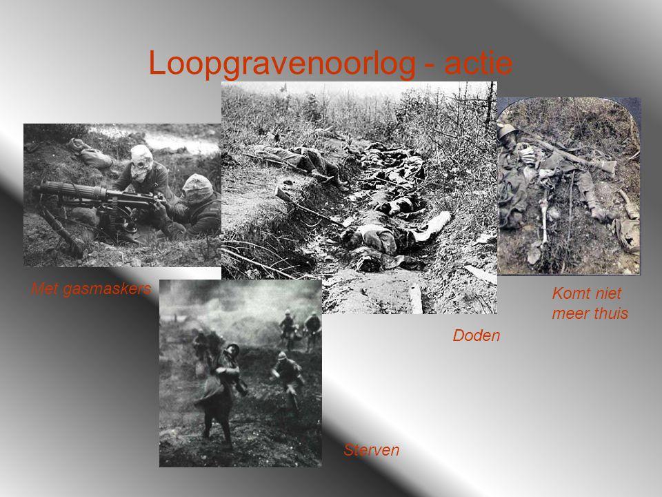 Loopgravenoorlog - actie