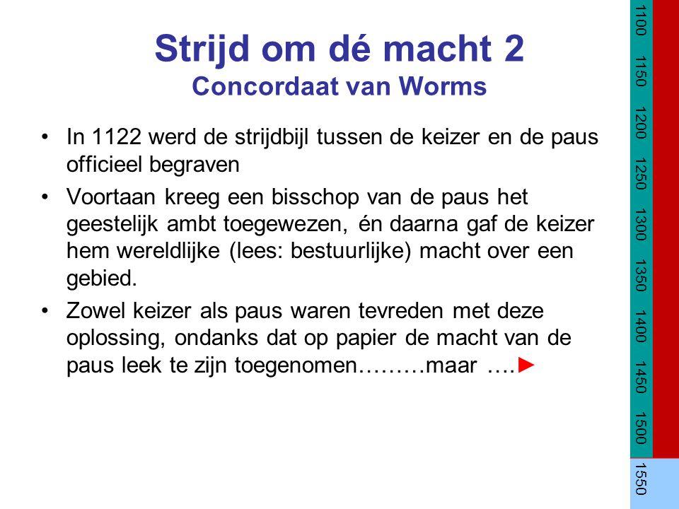Strijd om dé macht 2 Concordaat van Worms