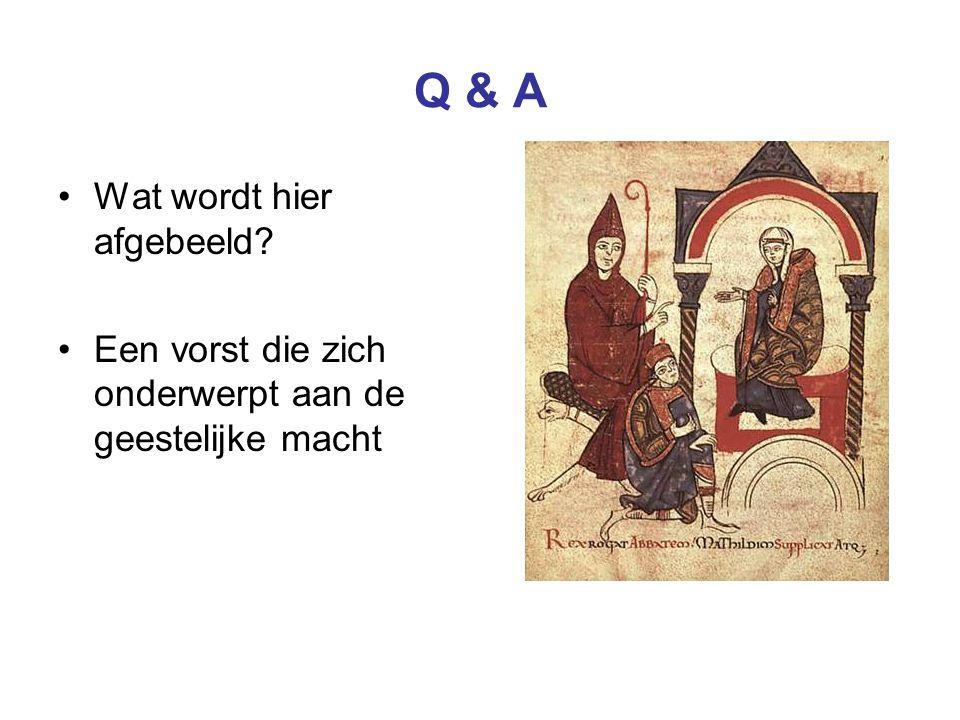 Q & A Wat wordt hier afgebeeld