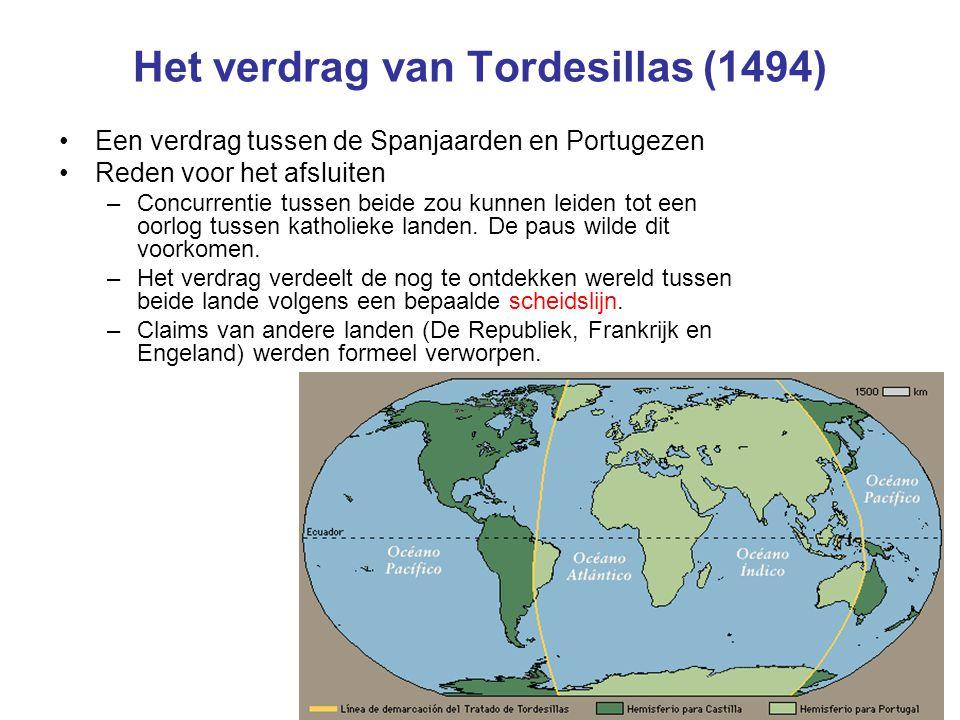 Het verdrag van Tordesillas (1494)