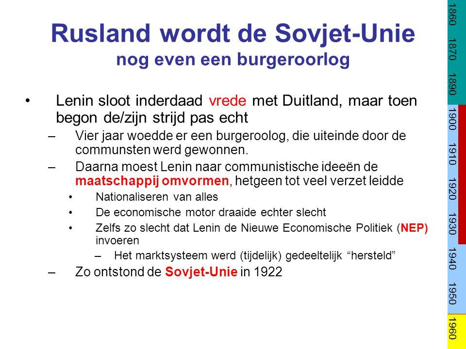 Rusland wordt de Sovjet-Unie nog even een burgeroorlog
