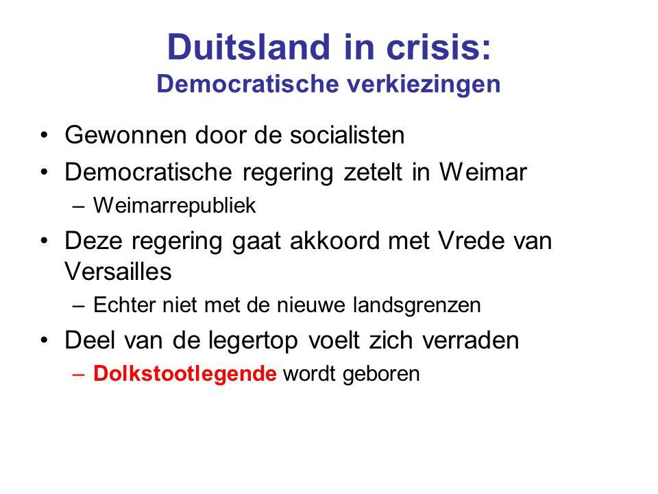 Duitsland in crisis: Democratische verkiezingen