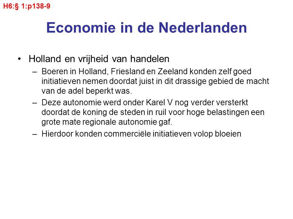 Economie in de Nederlanden