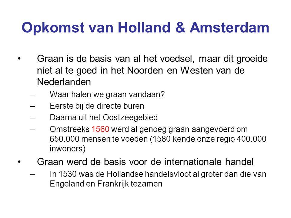 Opkomst van Holland & Amsterdam