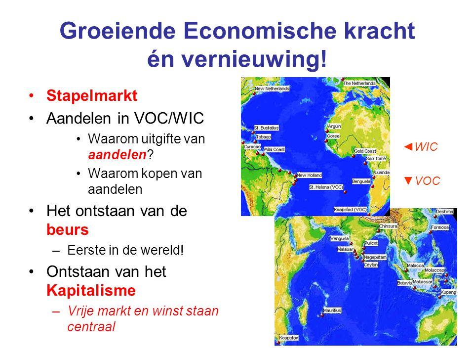 Groeiende Economische kracht én vernieuwing!