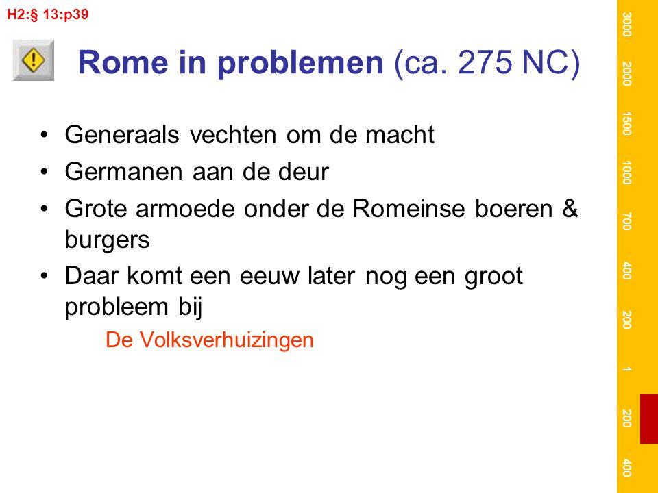 Rome in problemen (ca. 275 NC)