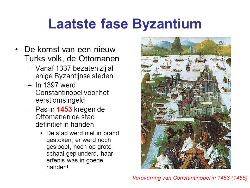 Laatste fase Byzantium