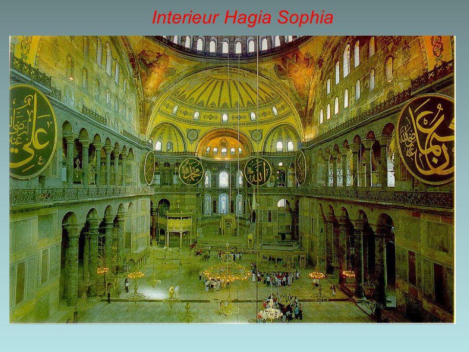 Interieur Hagia Sophia
