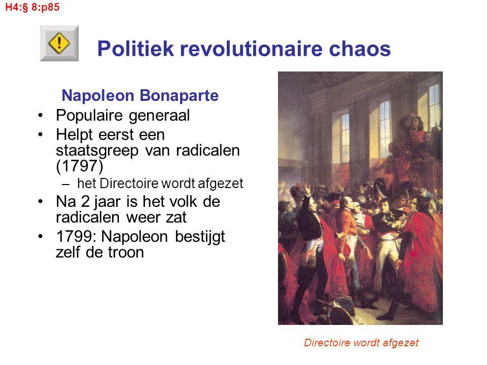 Politiek revolutionaire chaos