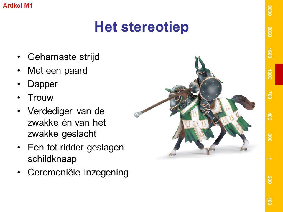 Het stereotiep Geharnaste strijd Met een paard Dapper Trouw