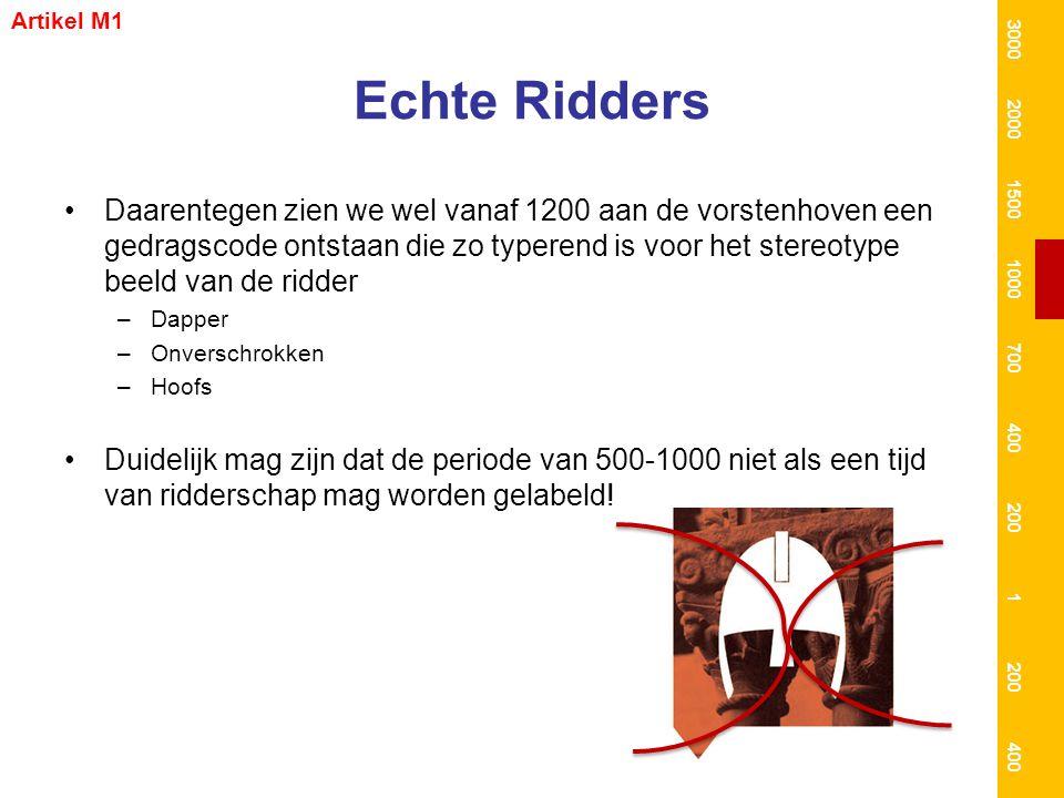 Artikel M1 3000. 2000. 1500. 1000. 700. 400. 200. 1. Echte Ridders.