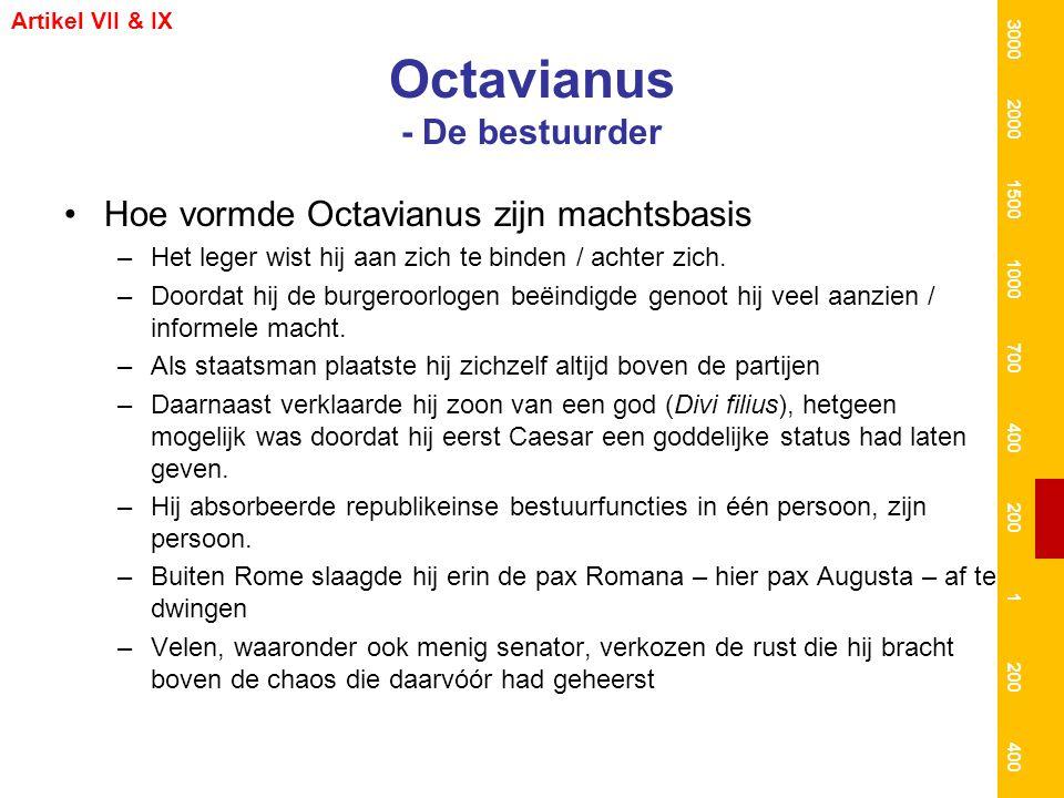 Octavianus - De bestuurder