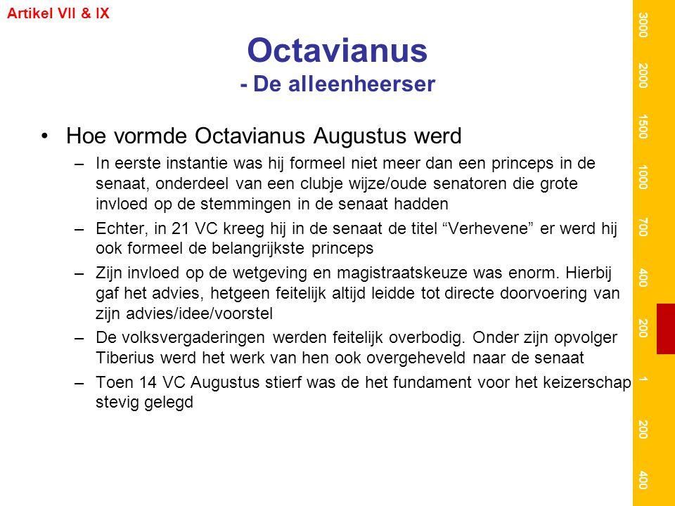 Octavianus - De alleenheerser