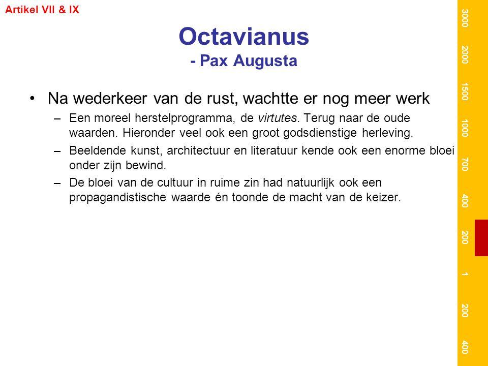 Octavianus - Pax Augusta