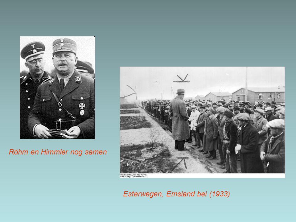 Röhm en Himmler nog samen
