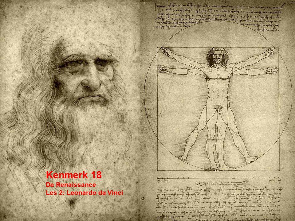 Kenmerk 18 De Renaissance Les 2: Leonardo da Vinci