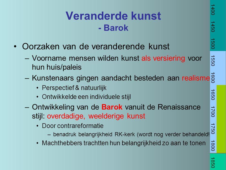 Veranderde kunst - Barok