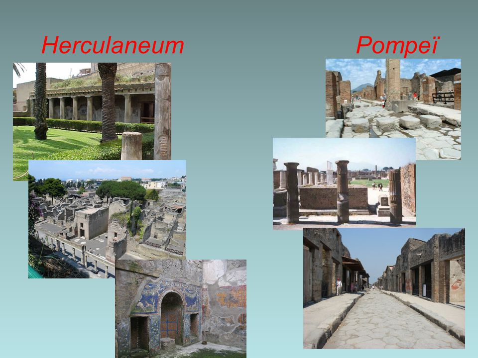 Herculaneum Pompeï
