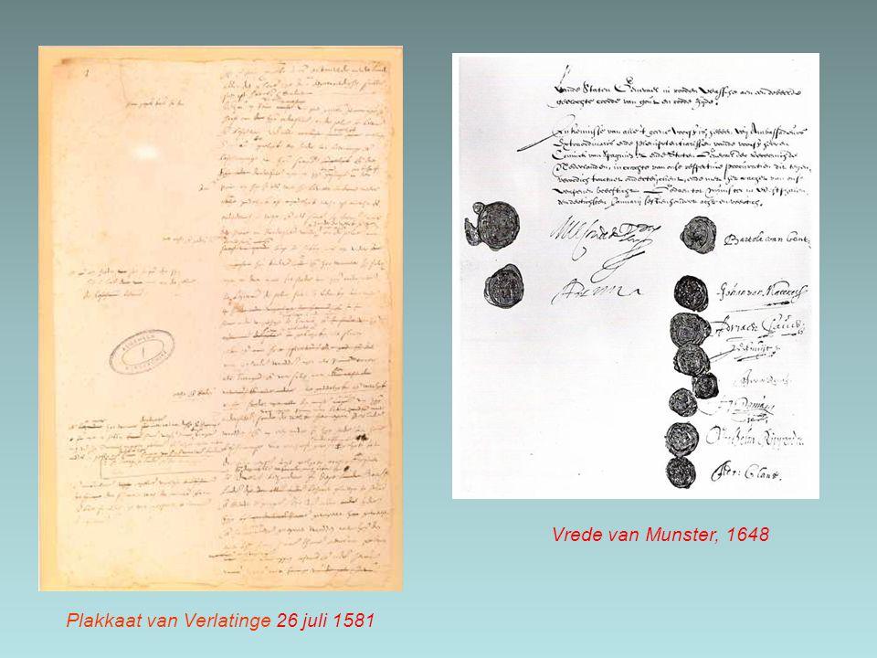 Plakkaat van Verlatinge 26 juli 1581