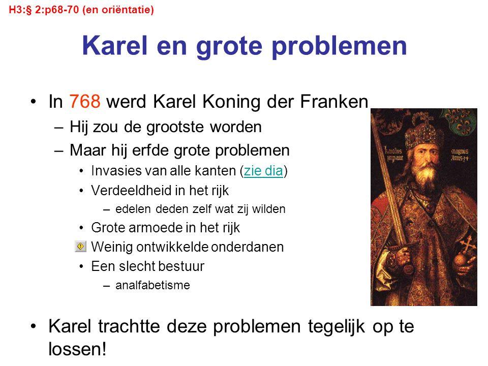 Karel en grote problemen